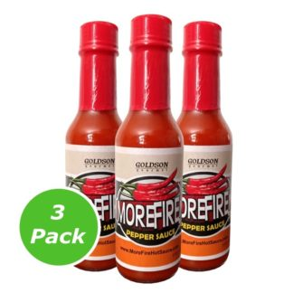 5oz Bottle – MoreFire Pepper Sauce