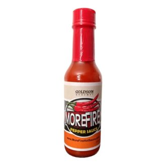 5oz Bottle – MoreFire Hot Sauce